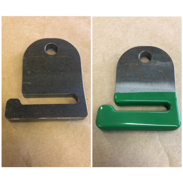 Strap Hook - Before & After